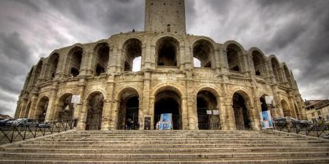 Monumentos romanos y románicos de Arles