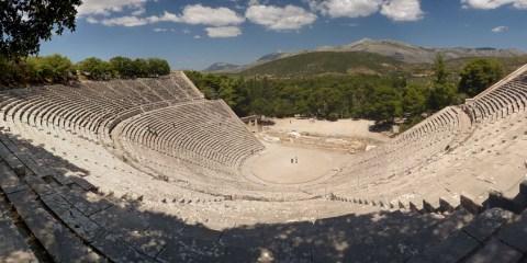 Santuario de Esculapio en Epidauro