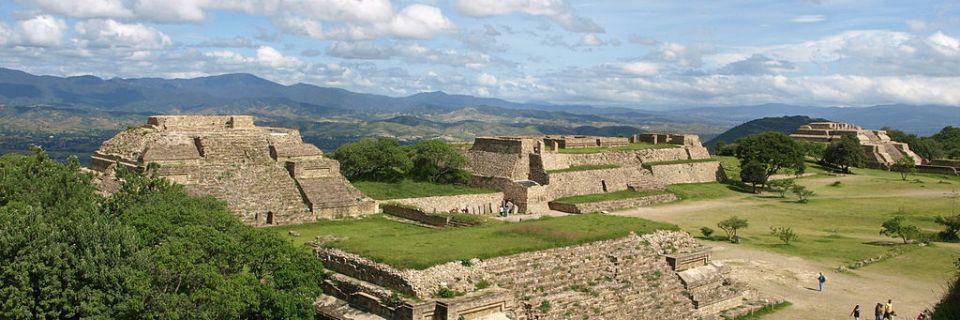 Centro histórico de Oaxaca y zona arqueológica de Monte Albán
