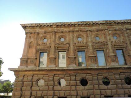 Palacio de Carlos V. Vista desde la Iglesia.