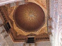 Techos de oro, en un Palacio de El Alcazar