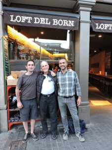 Loft del Born. Cena entre amigos.