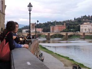 Otra bella postal del Arno