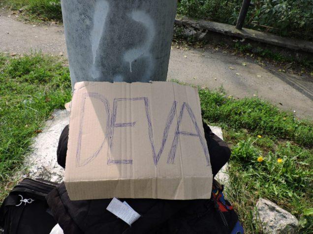 Cartel primer autostop a la rumana