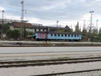 Trenes abandonados de Sofia