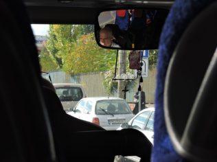 Simpatiquísimo chofer de autobuses