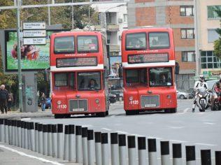 Buses en Skopje