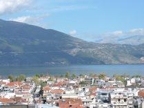 Vista del balcón de la casa de Vasilis