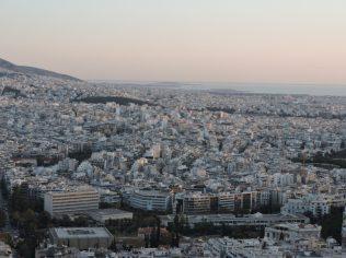 Atenas entre el mar y el cielo