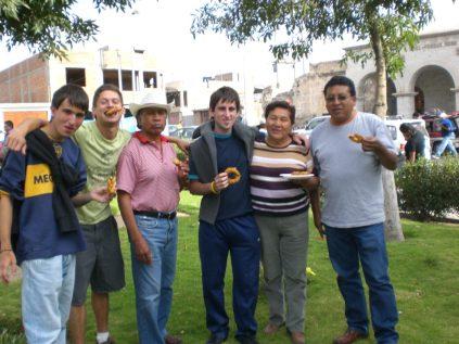 Dulces típicos en Arequipa, Peru.
