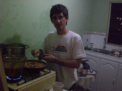 Cocinando, un gran hobby