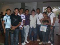 Alumnos en San Buenaventura
