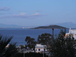 Vista de la habitación del Vipassana en Marmari