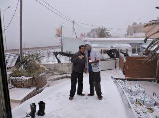 En la nieve de lesbos