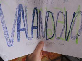 Mi cartel a Valandovo (por si las dudas)