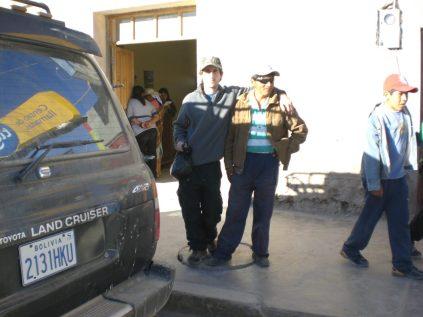 Gabino en Bolivia