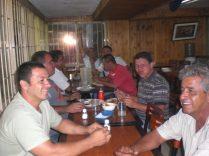 Cenando con camioneros en Colombia