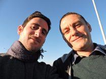 Selfie con Bratislav antes de la despedida