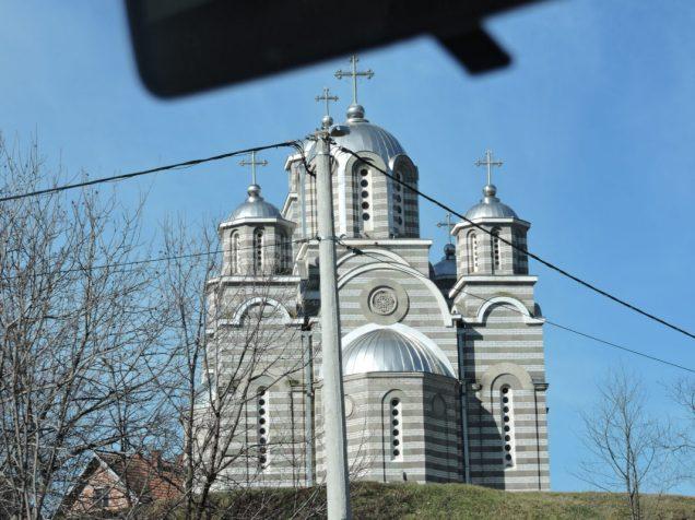 Una de las tantas iglesias del camino