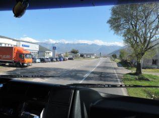 Primera vista desde el camión