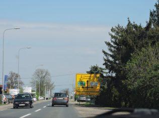 Camino a la frontera serbo croata