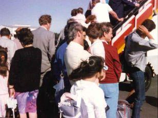 Primeros vuelos