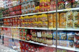 Noodles en Singapur