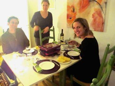 Raclette Zúrich Suiza