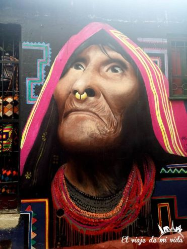 Streetart en Bogotá, Colombia