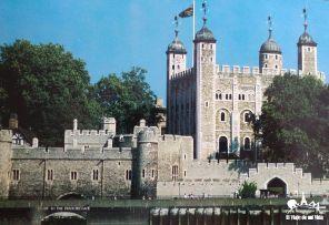 La Torre de Londres (Postal)