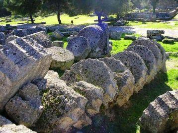 Columnas Olimpia Grecia