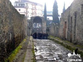 Entrada a Pompeya