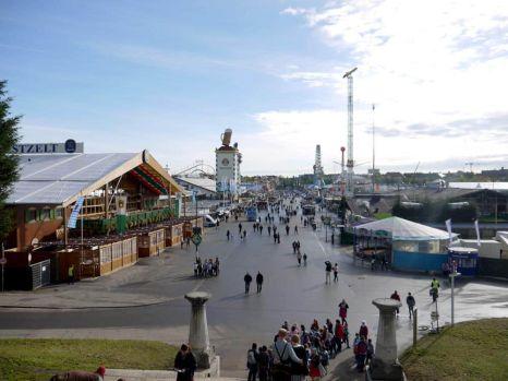 El recinto de la Oktoberfest