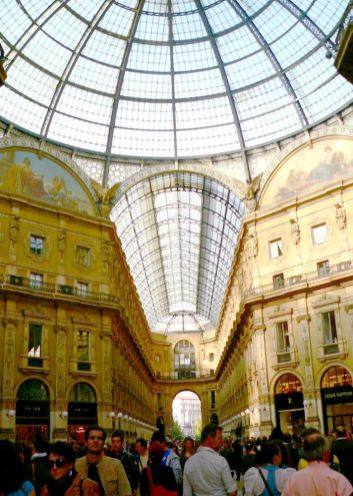 Galería Vittorio Emanuele II Milán