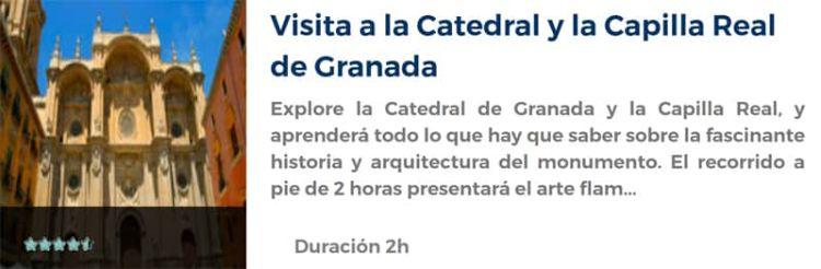 Visita a la Catedral y a la Capilla Real de Granada