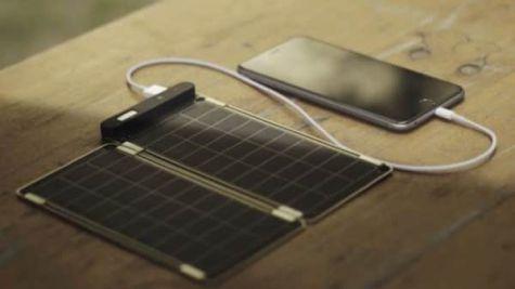 Batería solar para móviles