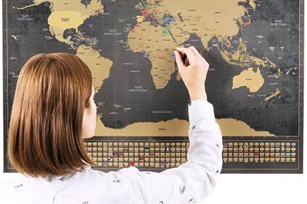 Mapas para rascar