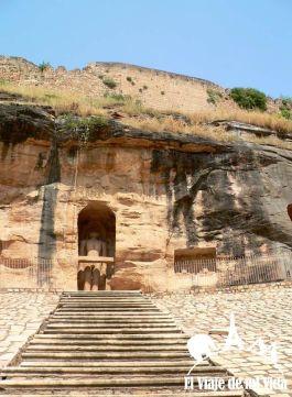 Estatuas jainistas de Gwalior