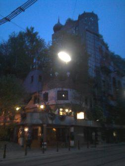 Los edificios de Hunderwasser