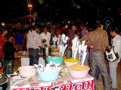 Puestos de comida callejeros India