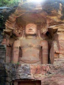 Estatuas jainistas de Gwalior India