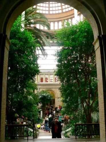 Jardín de la Glyptotek, Copenhague
