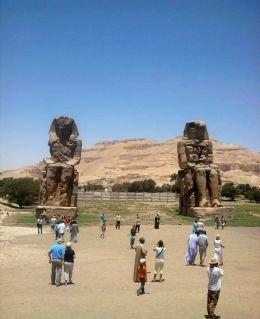 Colosos de Memnón Egipto