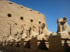 Entrada al templo de Karnak
