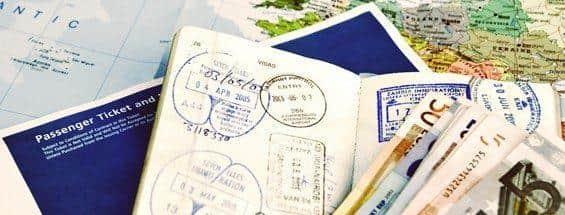 Sellos Visados Pasaportes