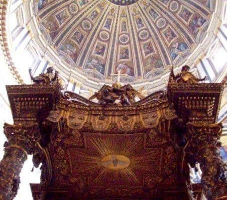Baldaquino de Bernini Vaticano