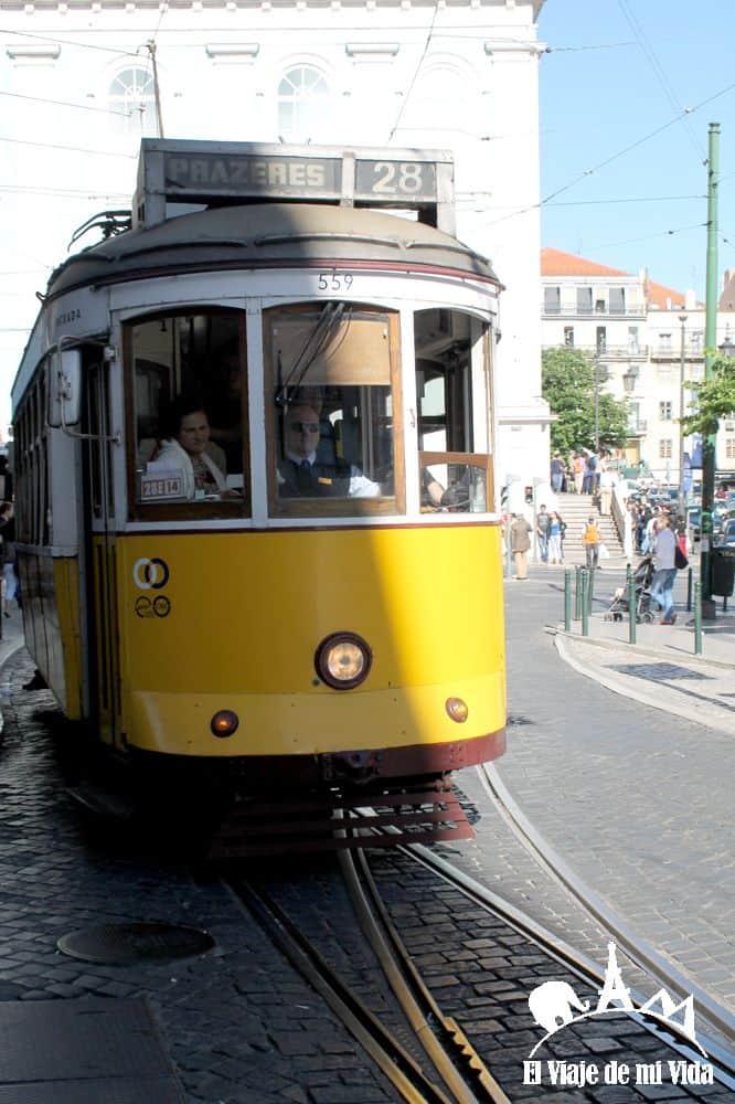 Tranvías en Portugal