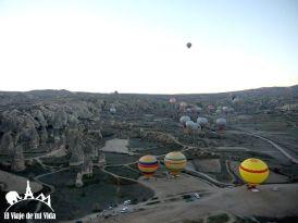 Vuelo en globo por la Capadocia