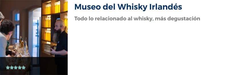 Entradas para el Museo del Whisky Irlandés