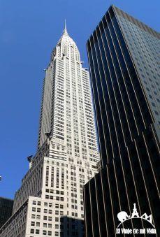 El Chrysler Building en Nueva York